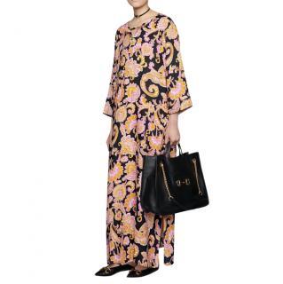 Gucci paisley-print runway kaftan dress