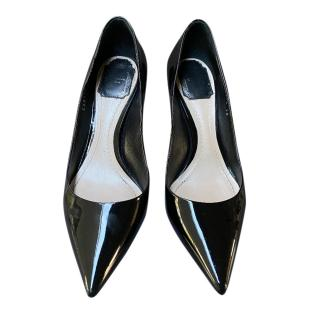Dior Black Patent Leather Pumps
