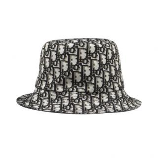 Dior Black Oblique Reversible Monogram Bucket Hat