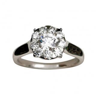 Mappin & Webb 18ct White Gold Diamond Ring