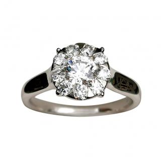 Mappin & Webb 18ct White Gold Diamond Ring