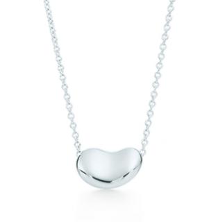 Tiffany & Co Elsa Peretti Bean Design Pendant Necklace