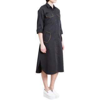 Nathalie Fordeyn Black A-Line Midi Dress