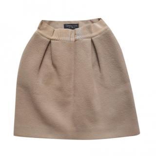 Giambattista Valli Wool Blend Mini Skirt
