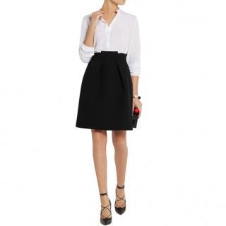 Roland Mouret Black Wool Kava Skirt