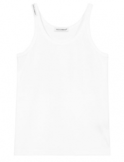 Dolce & Gabbana Kids 5Y White Vest