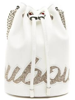 Christian Louboutin Marie Jane Embellished bucket bag