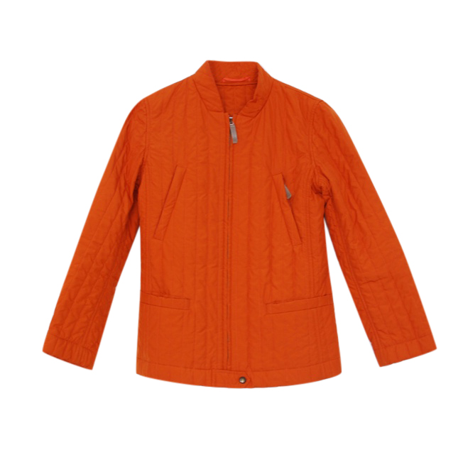 Weekend Max Mara Orange Puffer Jacket