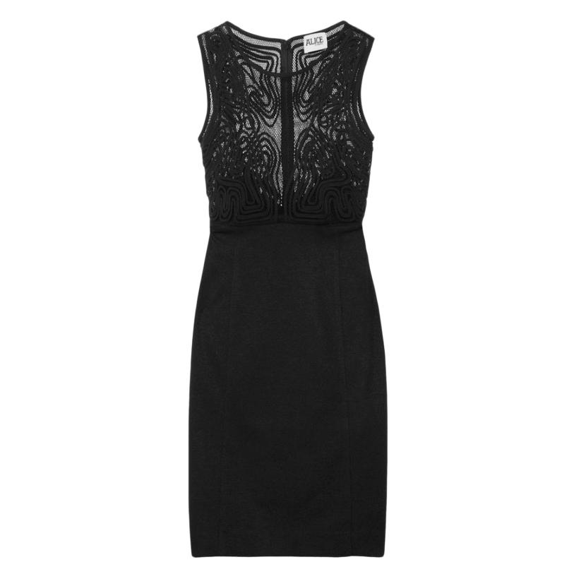 Alice by Temperley Black Tijuana Mini Dress