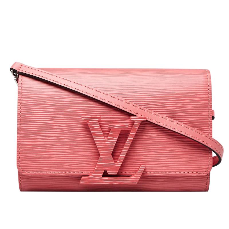 Louis Vuitton Coral Epi Leather Louise Shoulder Bag