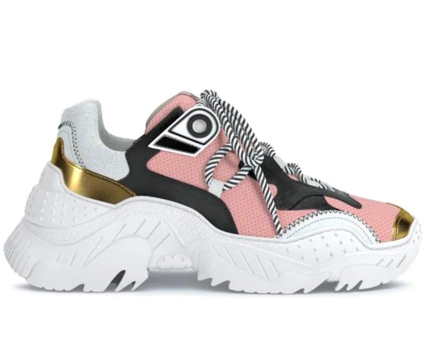 No21 Pink Chunky Billy Trainers