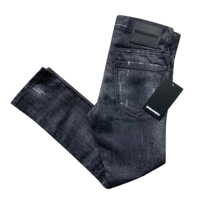 DSquared2 Kids 8 years distressed jeans