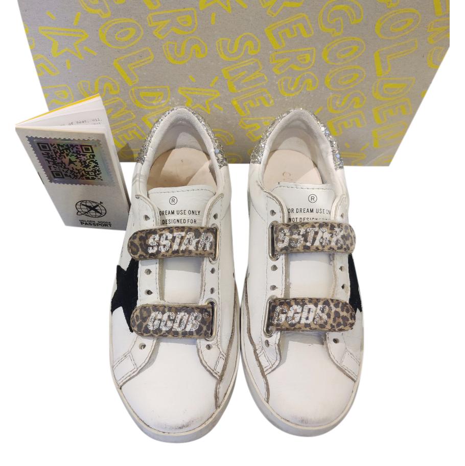 Golden Goose Kids Size 29 Superstar Sneakers