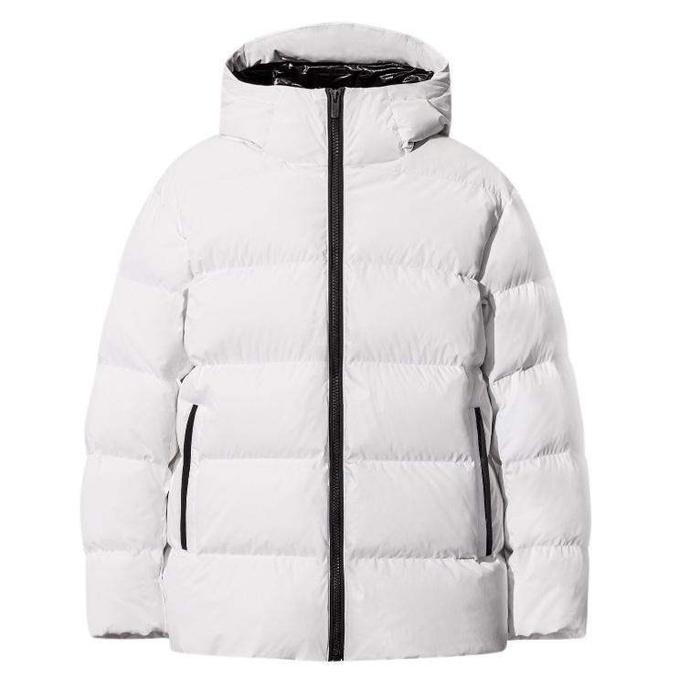 Jil Sander for Uniqlo J+ White Matte Down Coat