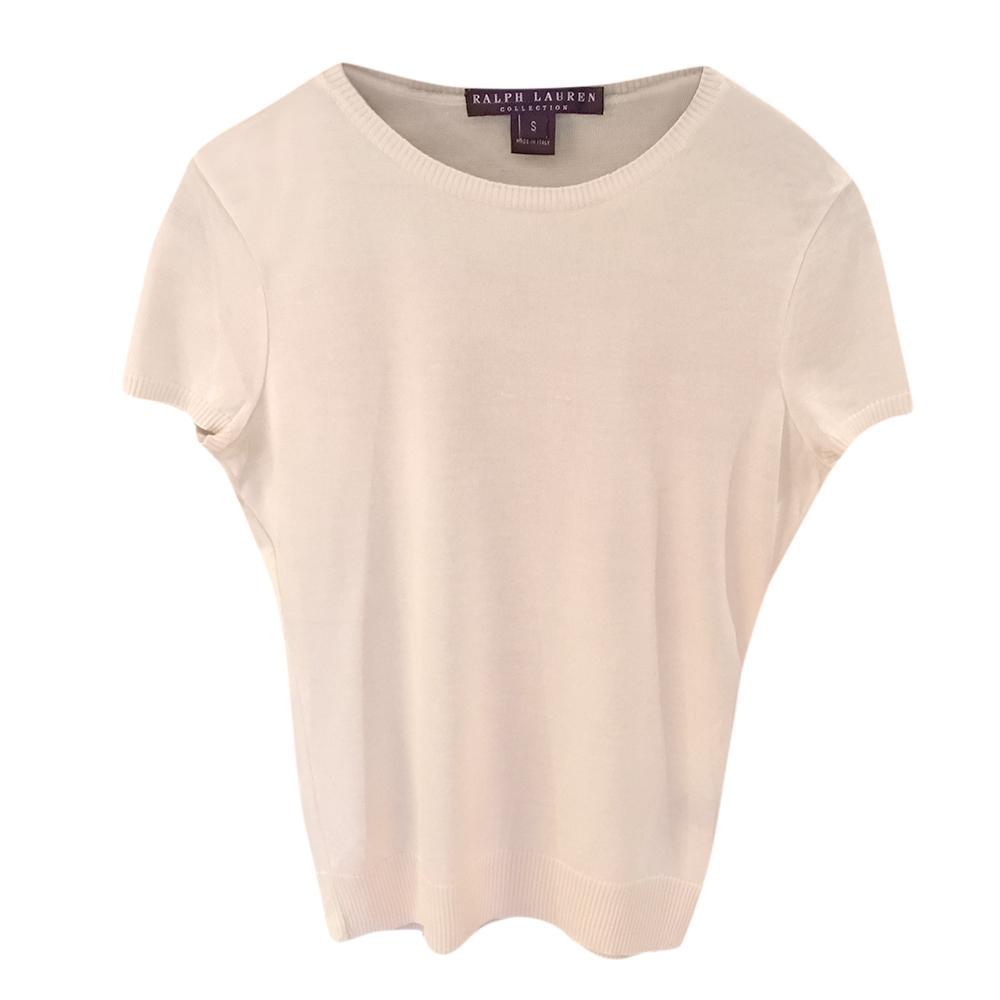Ralph Lauren Collection Silk & Cashmere Top