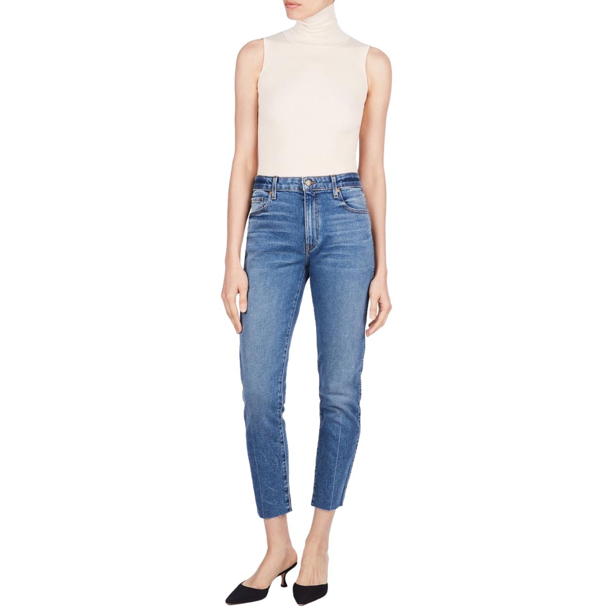 Khaite Blue Denim Alissa Jeans