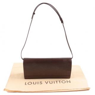 Louis Vuitton Moka Honfleur Shoulder Bag