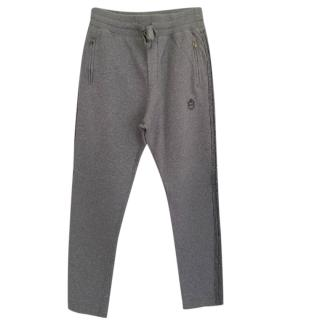 Dolce & Gabbana Grey Men's Joggers