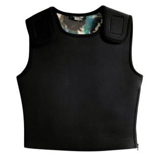 Calvin Klein 205W39NYC Black Reversible Vest