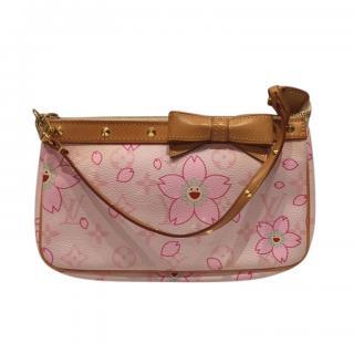 Louis Vuitton Pink Monogram Flower Pochette