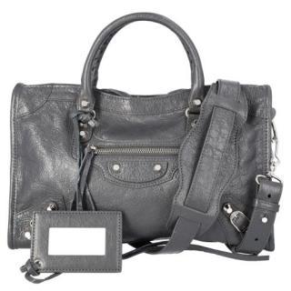 Balenciaga Grey Leather Classic City Bag
