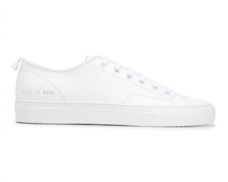 Common Projects Tournament Low Shiny Sole Sneakers