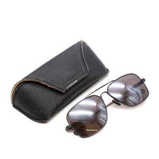 Lancier PS.005 Grey/Black Titanium Sunglasses
