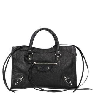 Balenciaga Black Classic City Shoulder Bag