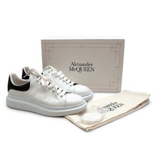 Alexander McQueen Black & White Oversized Sneaker - Size 47
