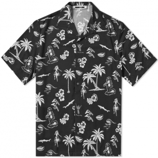 McQ by Alexander McQueen Billy Palm Vacation Shirt