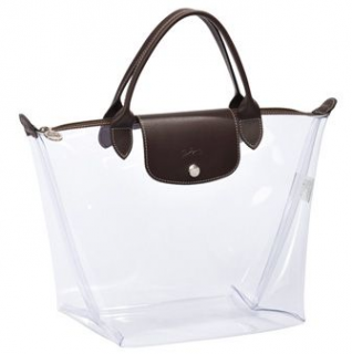 Longchamp Le Pliage Transparent Tote Bag