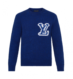 Louis Vuitton LV Intarsia Crew Neck
