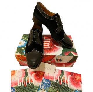 Gucci R�veille L'amour Velvet Dress Shoes