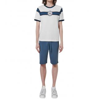 Dolce & Gabbana Mens Logo Stripe T-Shirt