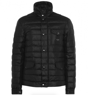 Dolce & Gabbana Plaque Down Padded Jacket