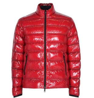 Moncler Red Glossy Laque Jacket