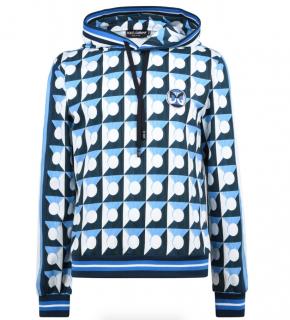 Dolce & Gabbana Blue Print OTH Hoodie