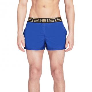VERSACE ICON Greca Waistband Swim Shorts