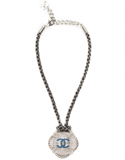 Chanel Lifesaver Crystal Rope Necklace