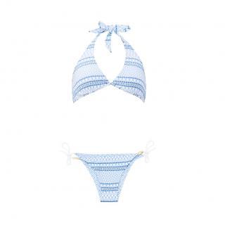 Heidi Klein Malta halterneck mosaic-print bikini
