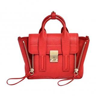 3.1 Phillip Lim Red Leather Mini Pashli Satchel