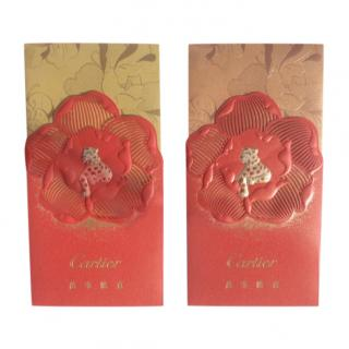 Cartier VIP Chinese New year Red Gift Envelopes