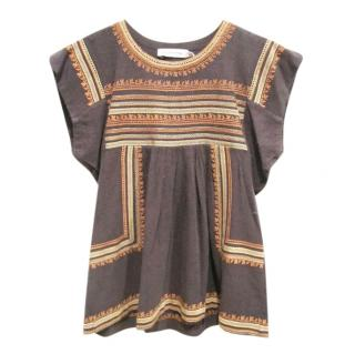 Isabel Marant Embroidered Dumas Top