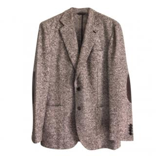 Brioni Wool & Silk Deconstructed Tailored Jacket