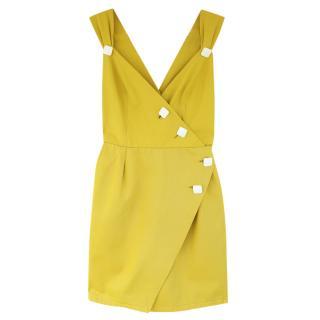 Yves Saint Laurent Rive Gauche Yellow Vintage Summer Dress