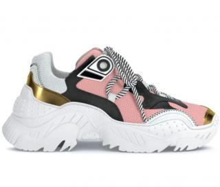 No.21 Pink Chunky Billy Trainers