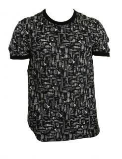 Dolce & Gabbana men's musician print t shirt