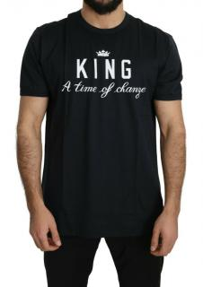 Dolce & Gabbana black KING t-shirt