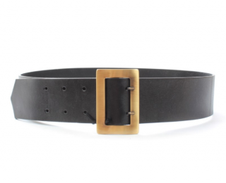 Philosophy Di Lorenzo Serafini Black Leather Belt