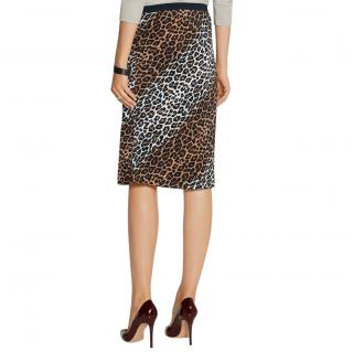 Elizabeth & James Leopard Print Adina Skirt